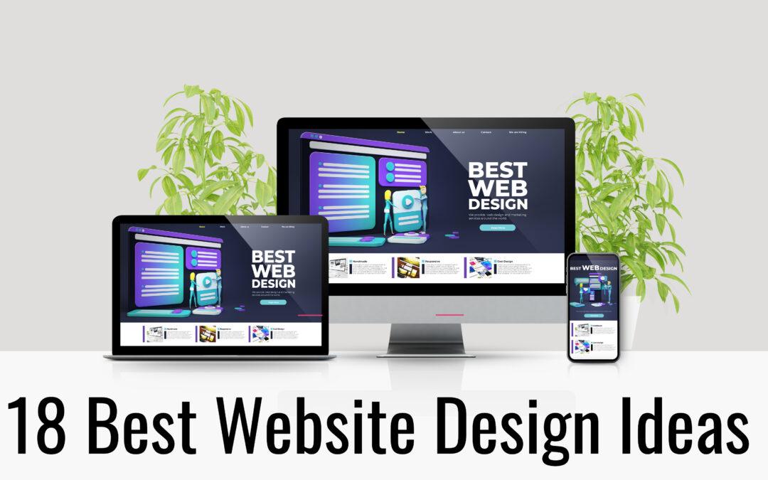 18 Best Website Design Ideas for 2021